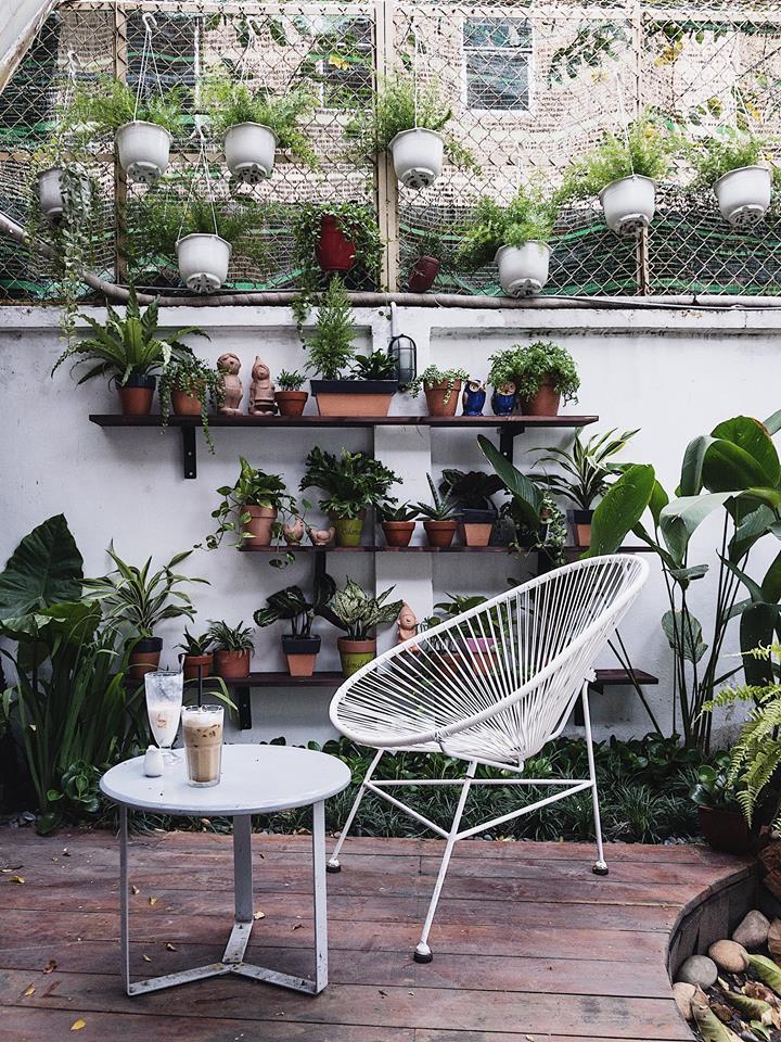 trang trí không gian quán cafe scandinavian