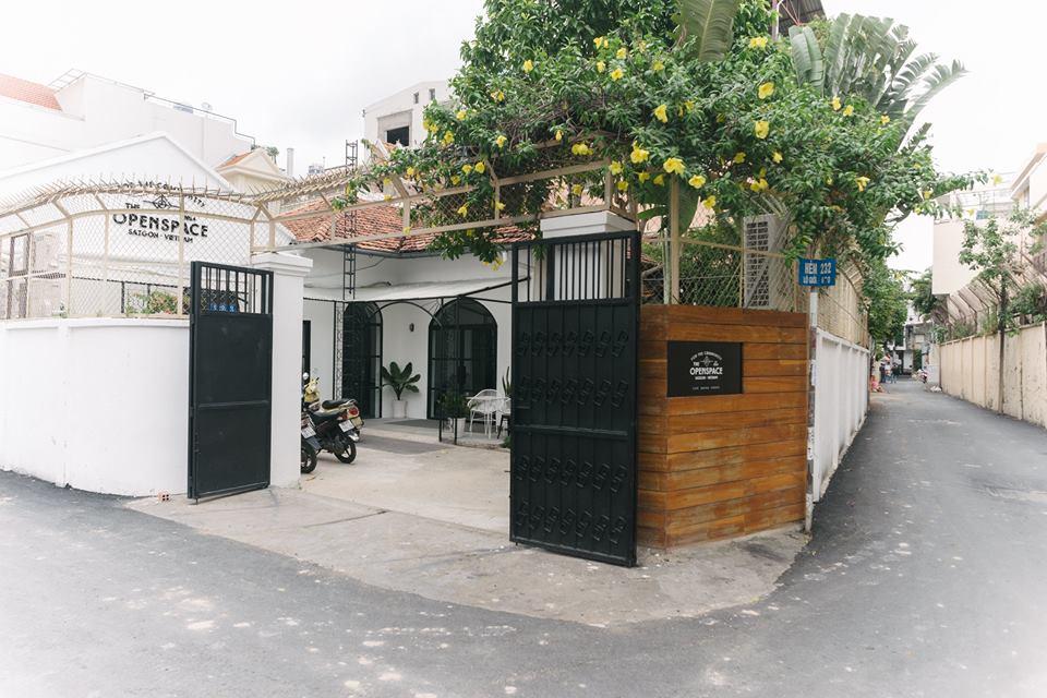 the open space - quán cafe thiết kế theo phong cách scandinavian