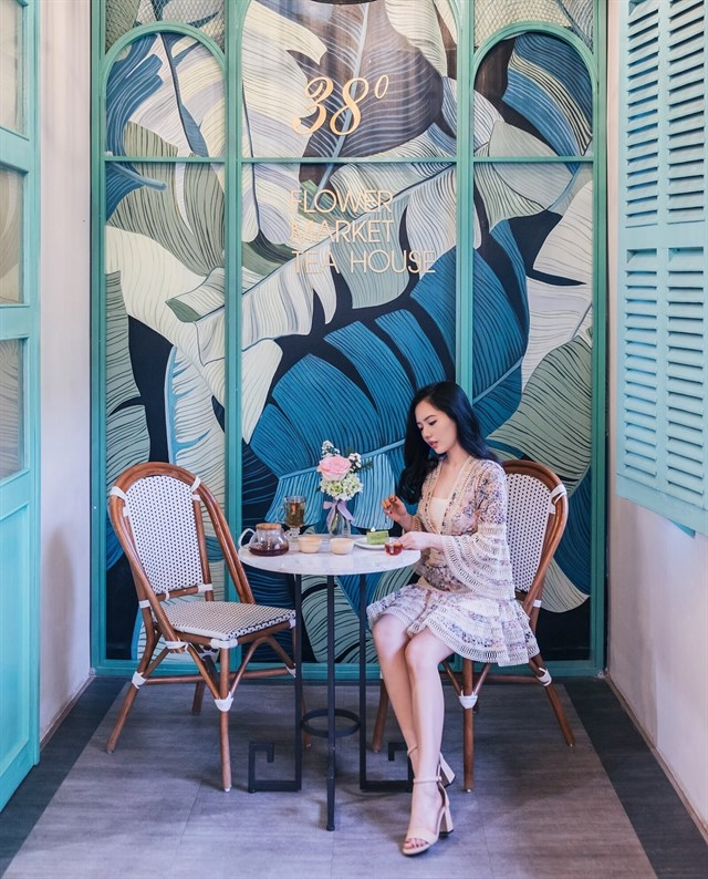 không gian nội thất quán cafe nổi bật tinh tế sang trọng